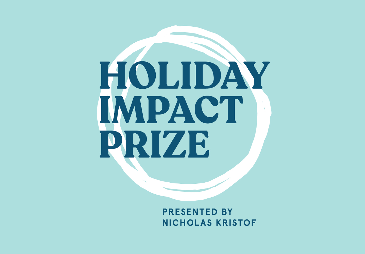 Holiday Impact Prize